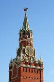 Clock tower of Moscow Kremlin — Stock Photo