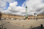 Place Vendome on April 04, 2011 in Paris. — Stock Photo