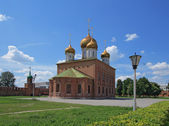 Ortodoxní uspenské katedrály — Stock fotografie