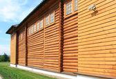 Edifício de madeira — Foto Stock