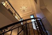 Interior - spiral staircase — Stock Photo