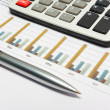 Royalty-Free Stock Photo: Calculation of house budget.