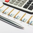 Calculation of house budget. — Stock Photo