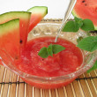 Stock Photo: Melons sorbet