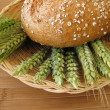 Bread and grains - Stock Photo