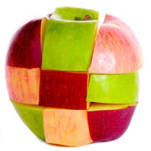 Apple sliced — Stock Photo