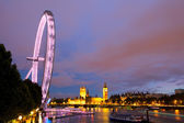 Night shot of London — Stock Photo