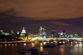 London at twilight — Stock Photo