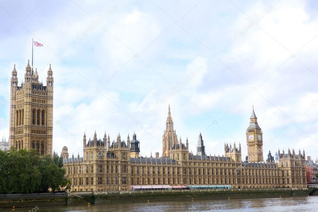 House of Parliament and Big Ben, London, United Kingdom — Stock Photo #6643065