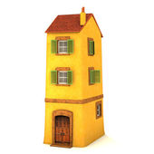 Small 3D house — Stock Photo