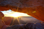 Mesa Arch — Stock Photo
