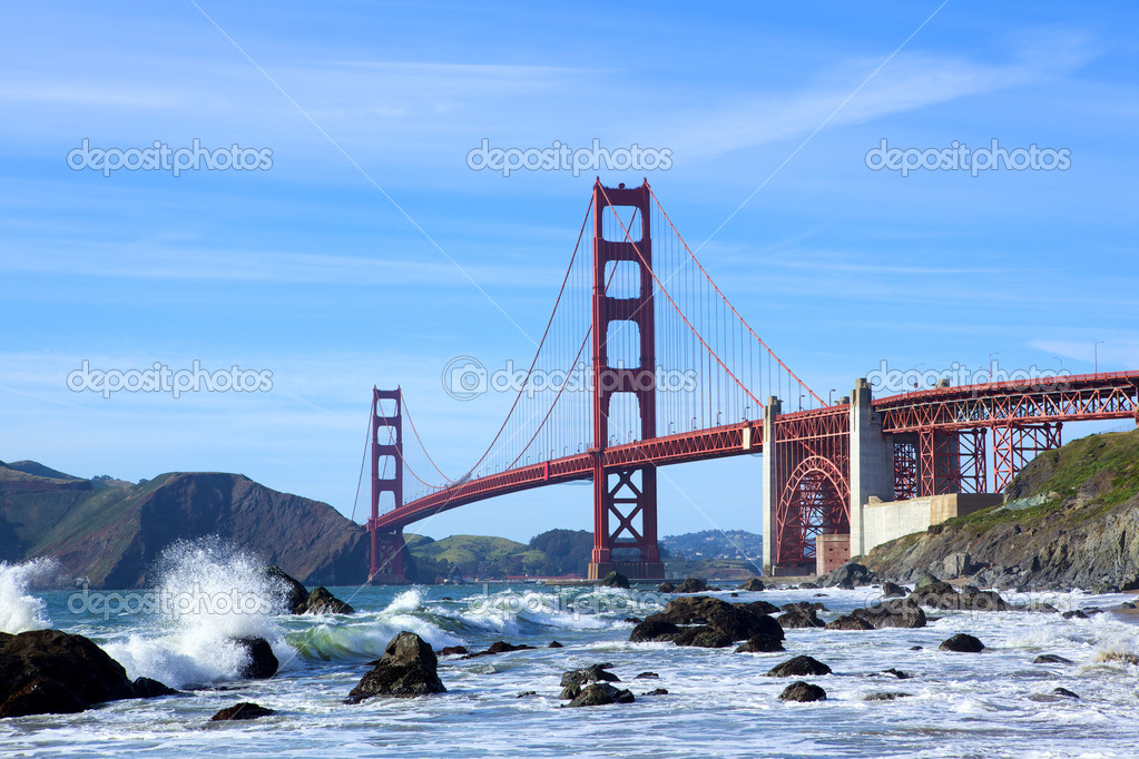 Golden Gate Bridge, San Francisco, California, USA — Stock Photo #6663782