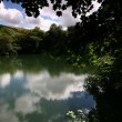Meldon reservoir Dartmoor. — Stock Photo