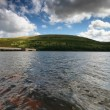 Meldon reservoir Dartmoor. - Stock Photo