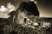 Abandoned farmhouse. — Stock Photo