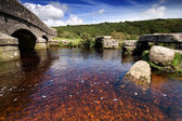 Dartmoor Bridges, old and new — Stock Photo