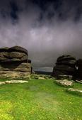 Coombestone Tor — Stock Photo