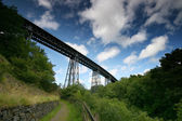 Meldon Viaduct. — Stock Photo
