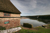Bantham Boathouse. — Stock Photo
