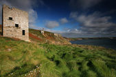 Wheal Trewavas looking towards Porthleven — Stock Photo