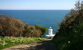 Tater Du lighthouse. — Stock Photo