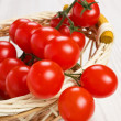Red cherry tomatoes — Stock Photo
