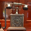 Old style telephone — Stock Photo