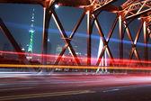 şehirde köprü — Stok fotoğraf