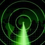 Green radar — Stock Photo #6429506