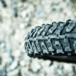 Bike tire — Stock Photo #6449165