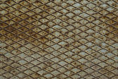 Old metal diamond plate — Stockfoto
