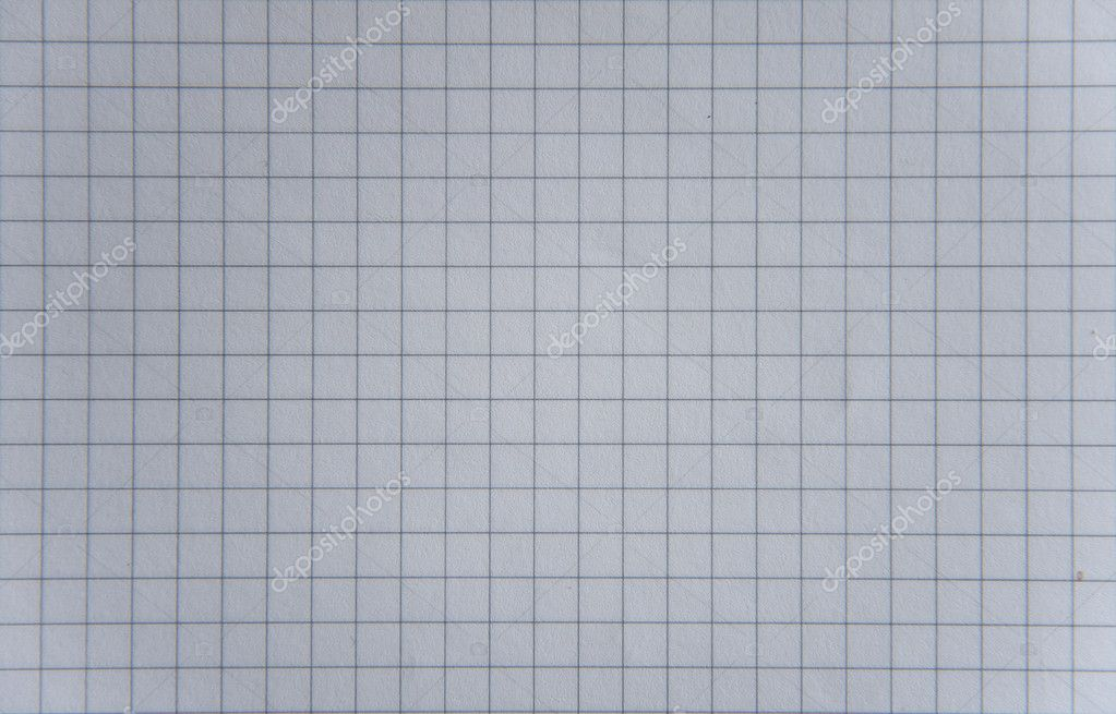 A texture of a paper with many squares  Stock Photo #6450017