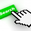 Cursor search — Stock Photo