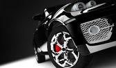 Black car — Стоковое фото