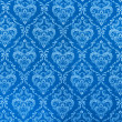 Blue calico texture — Foto de Stock