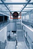 Ventilation in modern building — Stock Photo
