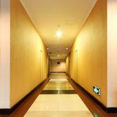 Corridor in the hotel — Stock Photo