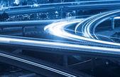 Overpass at night — Stock Photo