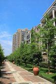 Beautiful residential community — Stock Photo