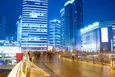 Night view of prosperous city — Stock Photo