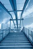 Urban footbridge — Stock Photo