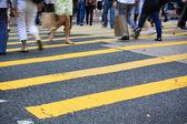 横断歩道や歩道 — ストック写真