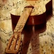 Acoustic guitar — Stock Photo #5653716