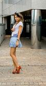 Portait of a pretty girl — Stockfoto