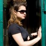 Punk girl — Stock Photo