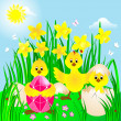 Easter day. — Stock Vector