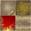 Set abstract background. — Stock Vector