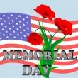 Memorial day — Stockvector