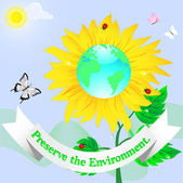 World Environment Day. — Stock Vector