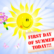 First Day of Summer. — 图库矢量图片 #5865410